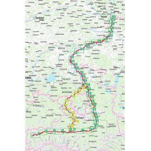 Tauern Radweg Bikeline Fietsgids