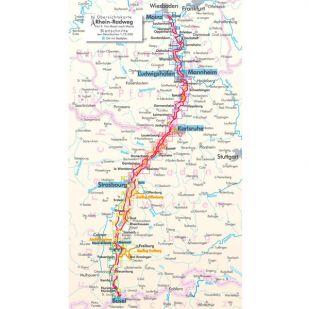 Rhein Radweg 2 Bikeline Fietsgids