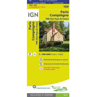 IGN 109 Paris/Compiegne