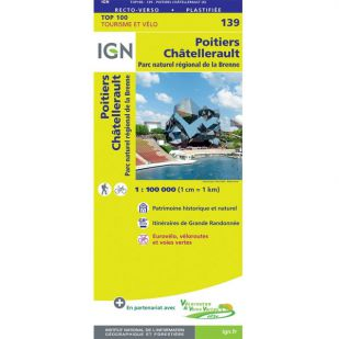 IGN 139 Poitiers/Chatellerault