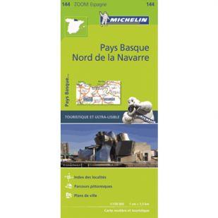 Michelin 144 Pays Basque Nord de la Navarre