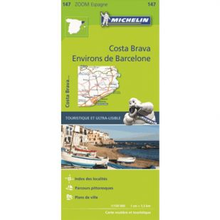 Michelin 147 Environs De Barcelona