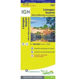 IGN 147 Limoges/Gueret