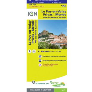 IGN 156 Le-Puy-En-Velay/Privas