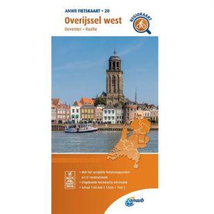 ANWB Regiokaart 20 Overijssel west