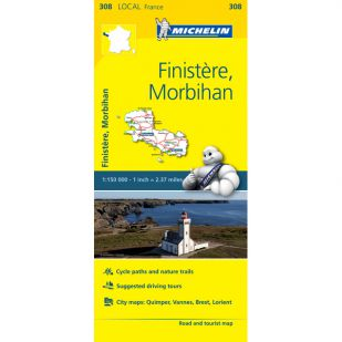 Michelin 308 Finistere, Morbihan