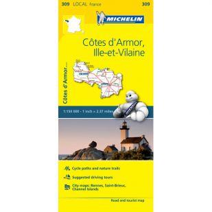 Michelin 309 Cotes-D'Amor, Ille-Et-Vilaine