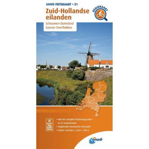 ANWB Regiokaart 31 Zuid-Hollandse eilanden