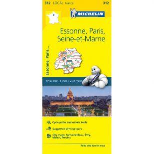 Michelin 312 Essonne, Paris, Seine-Et-M.