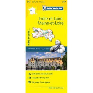 Michelin 317 Indre-Et-Loire