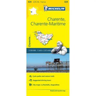 Michelin 324 Charente, Charente-Maritime
