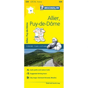 Michelin 326 Allier, Puy-De-Dome