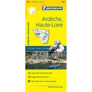 Michelin 331 Ardeche, Haute-Loire