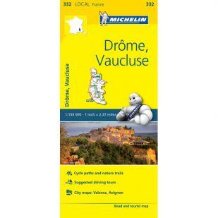 Michelin 332 Drome Vaucluse