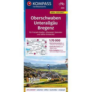 KP3345 Oberschwaben - Unterallgäu - Bregenz