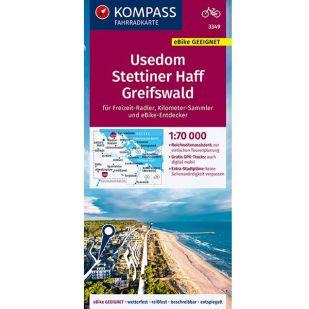 KP3349 Usedom - Stettiner Haff - Greifswald