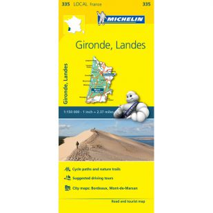 Michelin 335 Gironde Landes