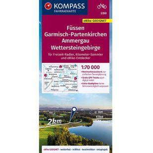 KP3350 Füssen - Garmisch Partenkirchen - Ammergau - Wettersteingebirge