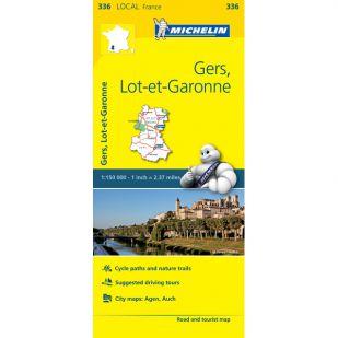 Michelin 336 Gers, Lot Et Garonne