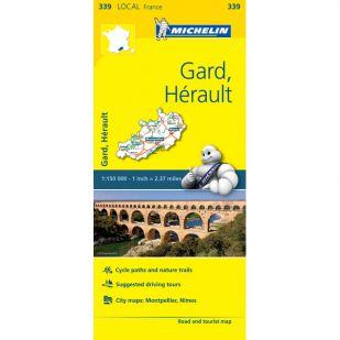 Michelin 339 Gard, Herault