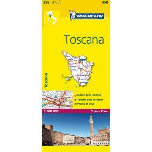 Michelin 358 Toscana