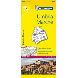 Michelin 359 Umbria, Marche