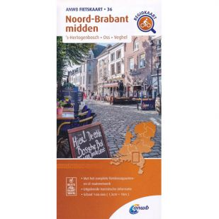 ANWB Regiokaart 36 Noord-Brabant midden