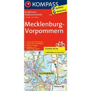 KP3702 Radkarte Mecklenburg-Vorpommern