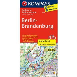KP3703 Radkarte Berlin-Brandenburg