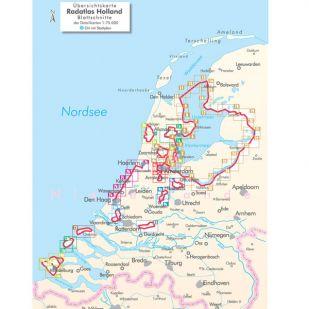 Radregion Holland Bikeline Fietsgids