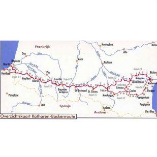 Fietsgids Katharen-Basken Fietsroute