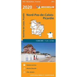 Michelin 511 Nord-Pas-De-Calais/Picardie 2020