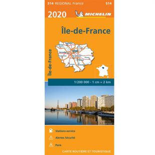 Michelin 514 Ile De France 2020