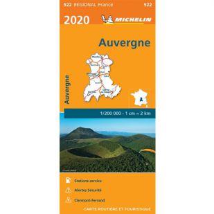 Michelin 522 Auvergne Limousin 2020