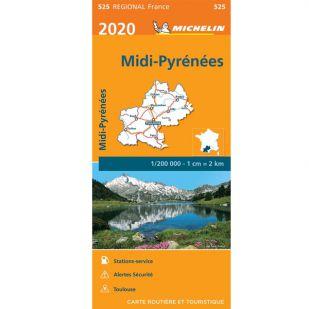 Michelin 525 Midi-Pyrenees 2020