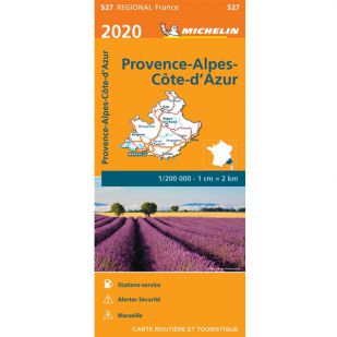 Michelin 527 Provence Alpes 2020