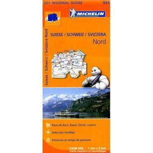 Michelin 551 Zwitserland Noord