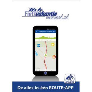 In uw App-store: St. Jacobs fietsroute deel 1
