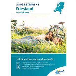 Anwb Fietsgids 2: Friesland