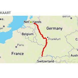 In uw App-store: Duitse Rhein Radweg