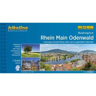 A - Radregion Rhein Main Odenwald Bikeline Fietsgids