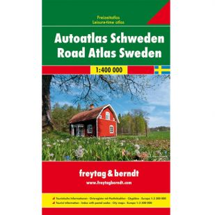 F&B Zweden Road Atlas 1:400.000/1:250.000