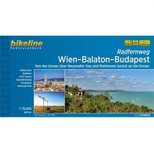 Wien - Balaton - Budapest Radfernweg Bikeline Fietsgids