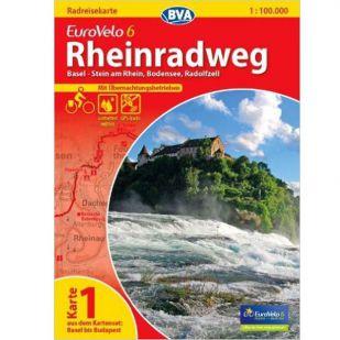 Rheinradweg Basel - Bodensee