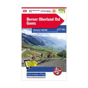 Berneroberland Ost Velokarte 22