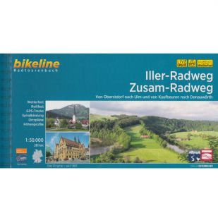 Iller-Radweg en Zusam-Radweg Bikeline fietsgids !