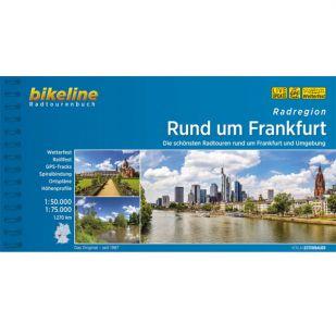 Rund um Frankfurt radregion Bikeline Fietsgids