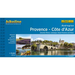 Provence - Côte d'Azur Radregion Bikeline Fietsgids