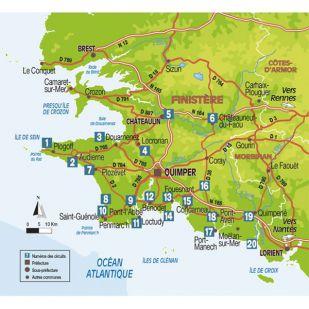 Boucles à vélo en sud Finistère