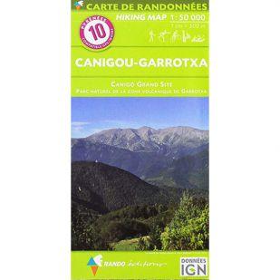 Pyrénées Carte no.10: Canigou